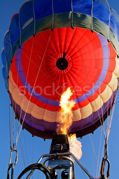 Hot air balloon Stock photo © EcoPic