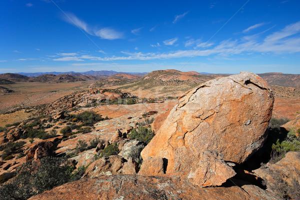 Woestijn landschap South Africa groot graniet noordelijk Stockfoto © EcoPic