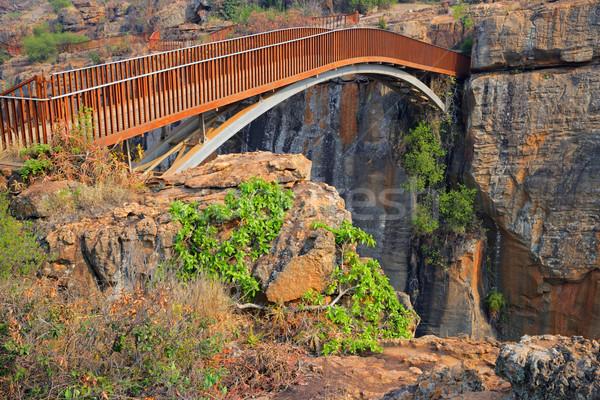 Stock photo: Bourke's Luck bridge