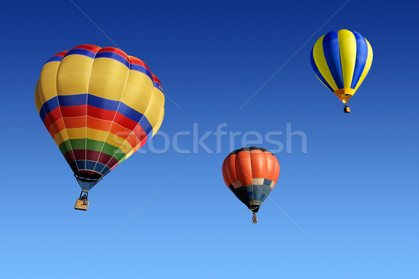 Hot air balloons Stock photo © EcoPic