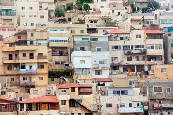 Densely constructed houses - Jerusalem Stock photo © EcoPic