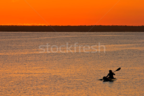 Mozambican sunset Stock photo © EcoPic