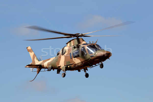 Military helicopter Stock photo © EcoPic