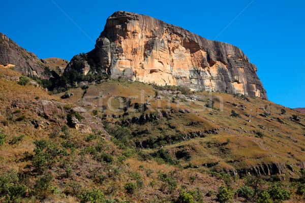 Sandstone rock Stock photo © EcoPic