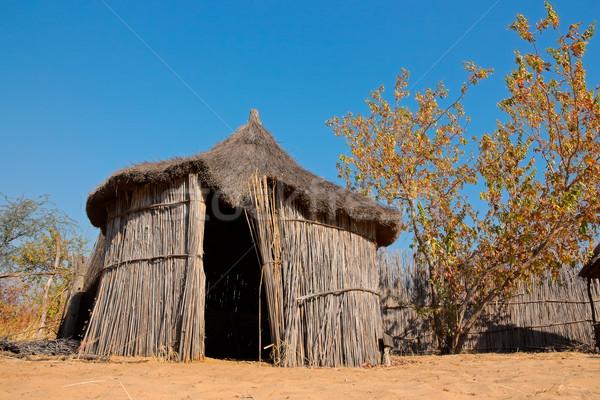 Rural África cabaña tradicional región Namibia Foto stock © EcoPic