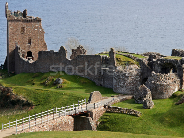 Urquhart Castle, Inverness Stock photo © EcoPic