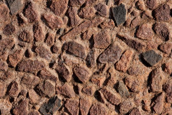 Taş duvar inşaat arka plan kaya duvar kağıdı model Stok fotoğraf © EcoPic