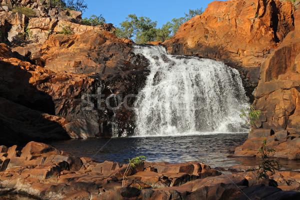 Waterfall - Kakadu National Park Stock photo © EcoPic