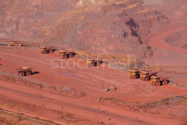 Iron ore mining Stock photo © EcoPic