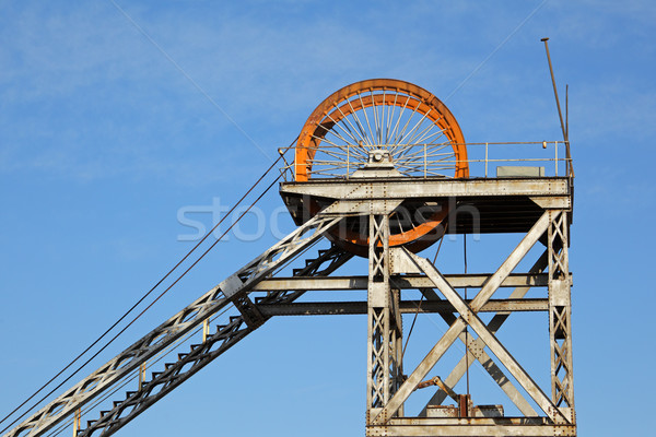 Mine shaft headgear Stock photo © EcoPic