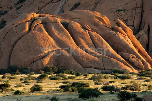Granite mountain Stock photo © EcoPic