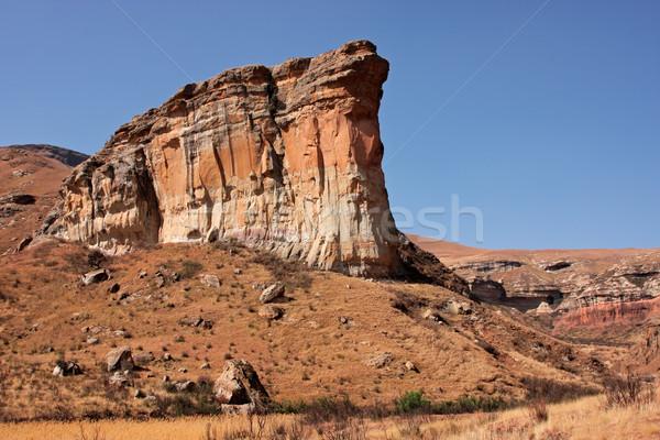 Arenaria rock view noto asciugare inverno Foto d'archivio © EcoPic