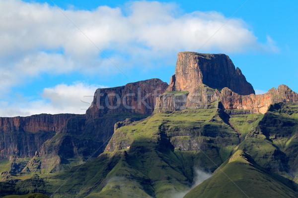 Montanhas sentinela anfiteatro real parque Foto stock © EcoPic