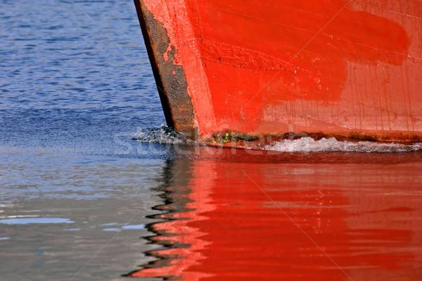 Boat reflection Stock photo © EcoPic