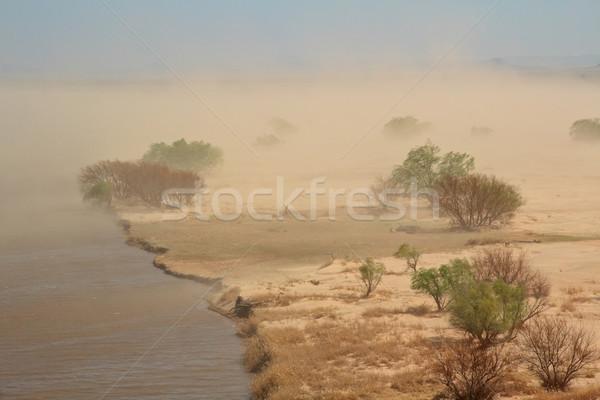Sand storm Stock photo © EcoPic