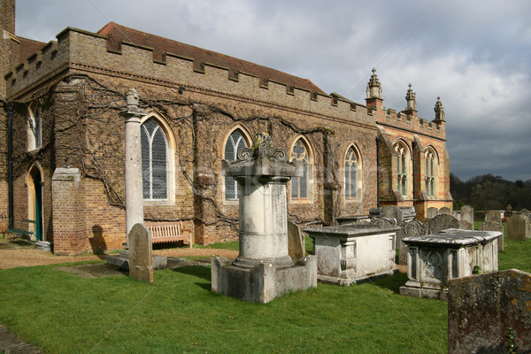 St Michael and All Angels parish church Stock photo © EcoPic
