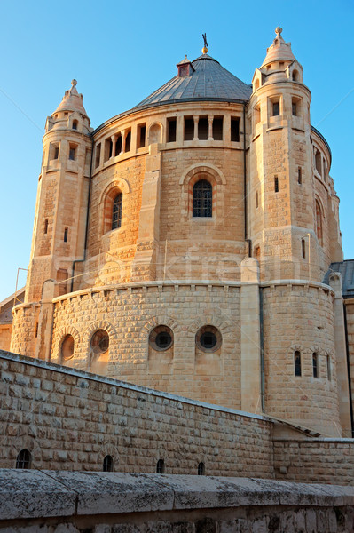 Dormition Abbey - Jerusalem Stock photo © EcoPic