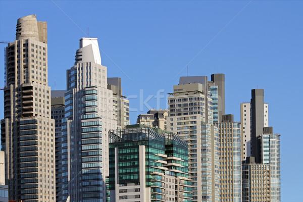 ストックフォト: 市 · 高層ビル · 超高層ビル · 建物 · ブエノスアイレス · 建設