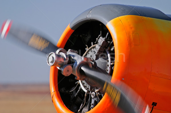 Airplane propeller Stock photo © EcoPic