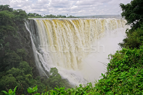 Victoria waterfall, Zimbabwe Stock photo © EcoPic