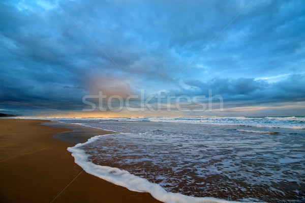 Seascape at sunset Stock photo © EcoPic