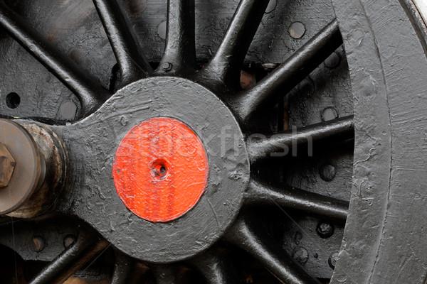 Roue vintage résumé métal Photo stock © EcoPic