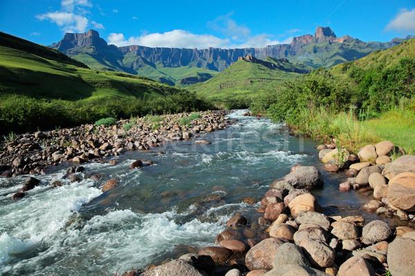 Drakensberg mountains Stock photo © EcoPic