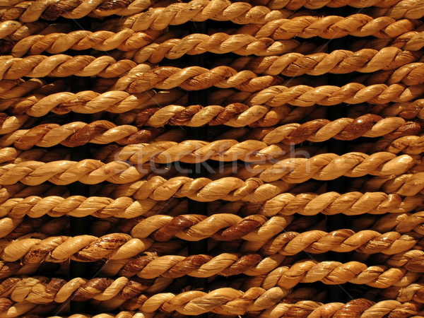 Woven bamboo background Stock photo © EcoPic