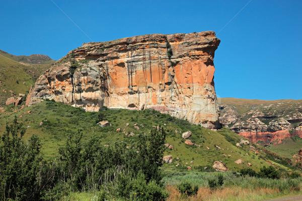Kumtaşı kaya görmek ünlü altın kapısı park Stok fotoğraf © EcoPic