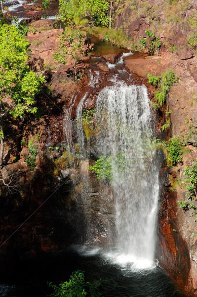 Waterfall, Kakadu NP Stock photo © EcoPic