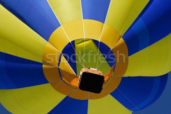 Hot air balloon Stock photo © EcoPic