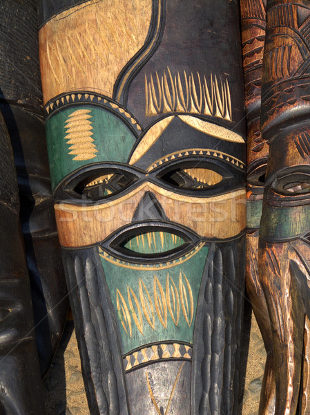 African mask Stock photo © EcoPic