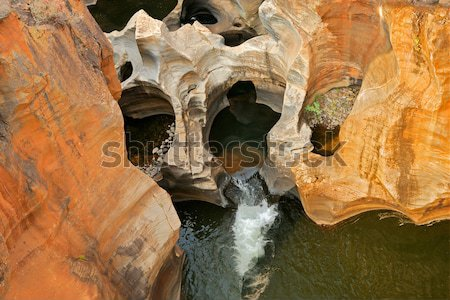 Bourke's Luck Potholes Stock photo © EcoPic