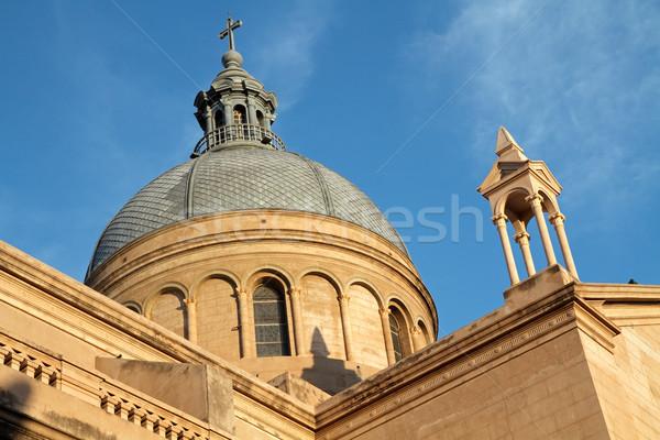 Cathedral tower, La Rioja Stock photo © EcoPic