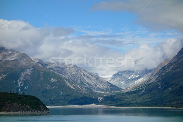 ледник парка живописный пейзаж Аляска воды Сток-фото © EcoPic
