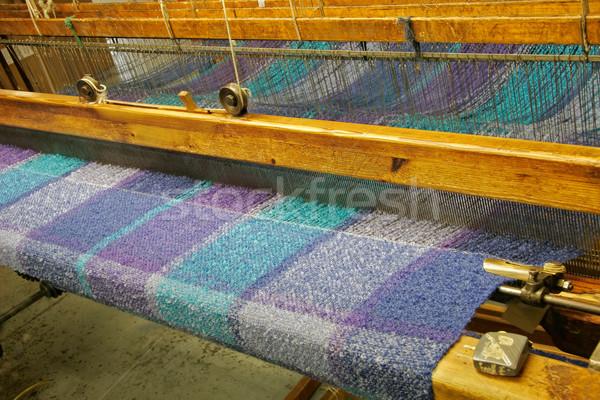 Woven fabrics Stock photo © EcoPic