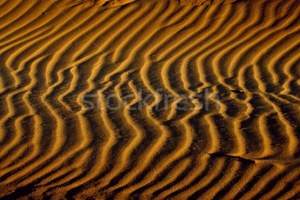 Sand patterns Stock photo © EcoPic