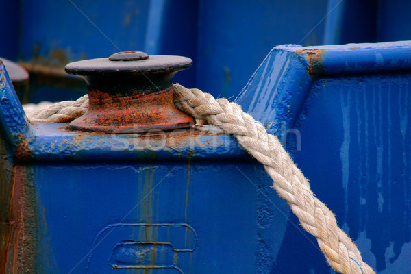 Anchor rope Stock photo © EcoPic