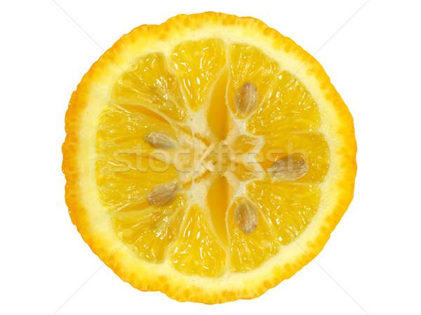 Lemon slice Stock photo © EcoPic