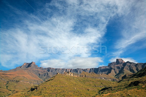 Drakensberg mountains Stock photo © EcoPic
