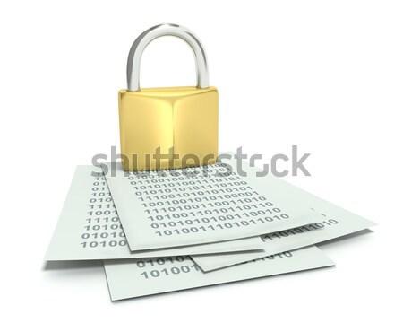 Security - Lock Stock photo © edgeofmadness