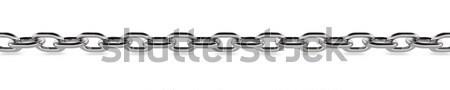 металл цепь концепция графических оказанный белый Сток-фото © edgeofmadness