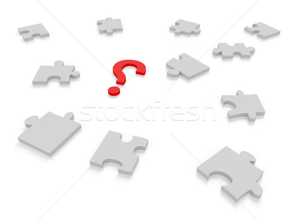 Question Mark Concept Graphic Stock photo © edgeofmadness
