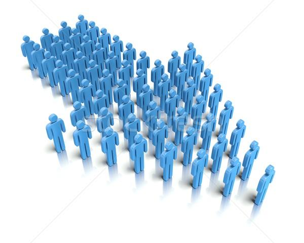 Leadership - Organization Stock photo © edgeofmadness