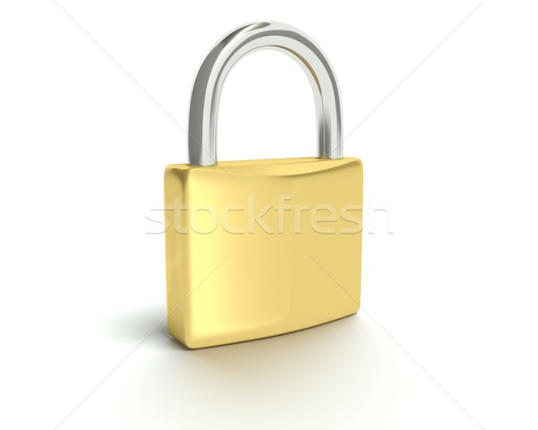 Stock photo: Security - Lock