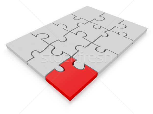 Jigsaw puzzle Concept Stock photo © edgeofmadness