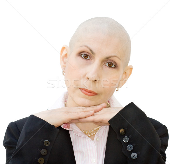 Portrait of cancer patient Stock photo © Eireann