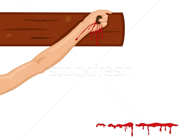 Stock photo: Religious Easter with Crucifixion on the Cross