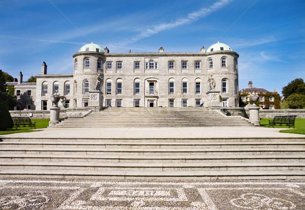 Palota Írország kastély történelmi tájékozódási pont elöl Stock fotó © Eireann