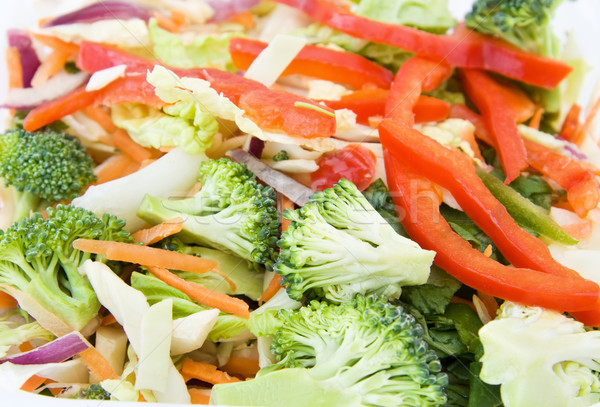 Stock photo: Fresh vegetables stir fry